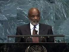 Haïti - Politique : Discours officiel du Président René Préval