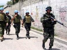 Haïti - Insécurité : Les forces militaires de la Minustah se déploient dans le pays