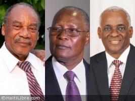 Haïti - FLASH : 3 candidats en compétition pour le poste de Président Provisoire (Officiel)
