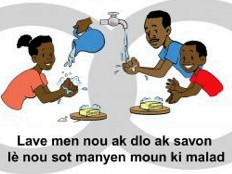 Haïti - Épidémie : Campagne de sensibilisation en milieu scolaire