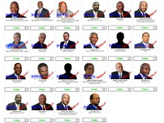 Haïti - i-Votes : Résultats des élections (i-Votes)