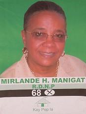 Haïti - Élections : Mirlande Manigat, cible de Célestin et Martelly