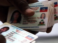 Haïti - Élections : Poursuite de la distribution des Cartes d'Identification Nationale