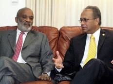 Haïti - Élections : Rencontre Albert Ramdin-René Préval