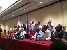 Haïti - Élections : Le groupe des 12 veut un gouvernement provisoire