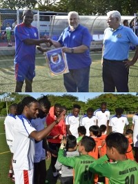 iciHaïti - Social : Les jeunes footballeurs au Nicaragua accueillent nos Grenadiers