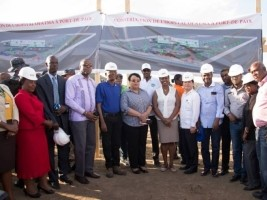 Haïti - Taïwan : Pose de la première pierre de hôpital de l'OFATMA à Port-de-Paix