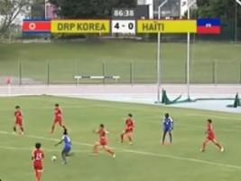 iciHaïti - Sud Ladies Cup : Nos Grenadières s'inclinent devant la supériorité Nord Coréenne [4-0]