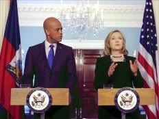 Haïti - Politique : Hillary Clinton déjeune avec Michel Martelly