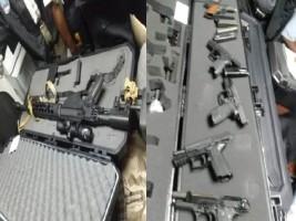 Haïti - Sécurité : Tous les détails sur les armes de guerres saisies à l'Aéroport Toussaint Louverture