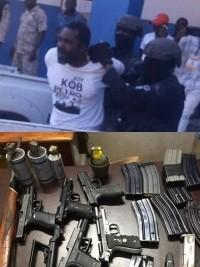 Haïti - FLASH : Bélizaire arrêté en possession d'un arsenal de guerre