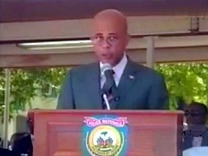 Haïti - Sécurité : Discours du Président Martelly à la 22 ème promotion de police