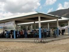 Haïti - Reconstruction : Nouveau marché agricole dans la commune de Saint Raphaël