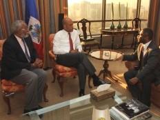 Haiti - Chili : Le Bureau de la Présidence revient sur la visite de Martelly au Chili