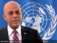 Haïti - Politique : Le Président Martelly va s'exprimer à l'ONU