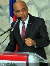 Haïti - Politique : Propos de Martelly avant son départ pour l'ONU