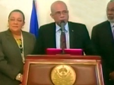 Haïti - Politique : De retour de New-York, le Président Martelly se dit satisfait