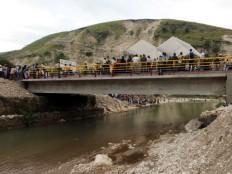 Haïti - Reconstruction : Martelly et Correa en visite dans l'Artibonite
