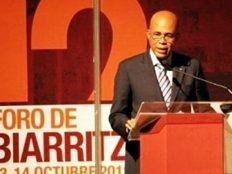 Haïti - Politique : Le Président Martelly au Forum de Biarritz