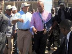 Haïti - Reconstruction : Martelly visite le chantier de l'Université «Roi Henri Christophe»