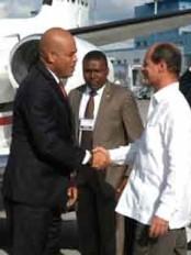 Haïti - Politique : Martelly à Cuba
