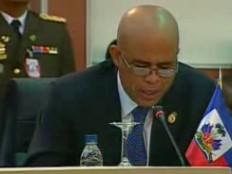 Haïti - Politique : Dernière journée du Président Martelly à Caracas (discours)