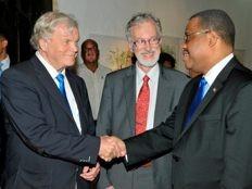 Haïti - Reconstruction : Garry Conille rencontre une délégation finlandaise à Santo Domingo