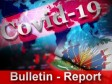 Haïti - Covid-19 : Bulletin quotidien 15 juin 2020
