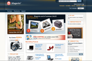 Magento Sample Store