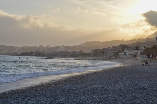 Menton beach (Côte d'Azur) Hajdi- Hajducica