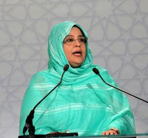 """رئيسة حزب """"الأمل"""" الموريتاني ل""""حقائق 24″ لا بديل عن رأب الصدع المغاربي"""