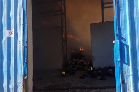 حريق يخلّف خسائر في مصنع للسمك بطانطان
