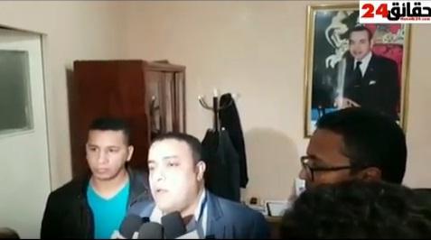 تصريح العميد الممتاز عماد شريف موقات عقب توقيف عصابة الملتمين باكادير