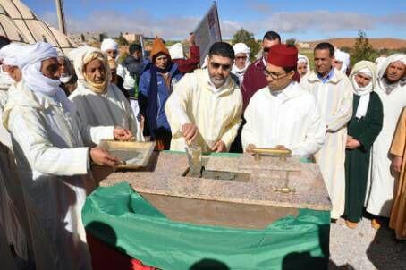 سيدي إفني : وضع الحجر الاساس لبناء مركز لتصفية الدم بإقليم سي