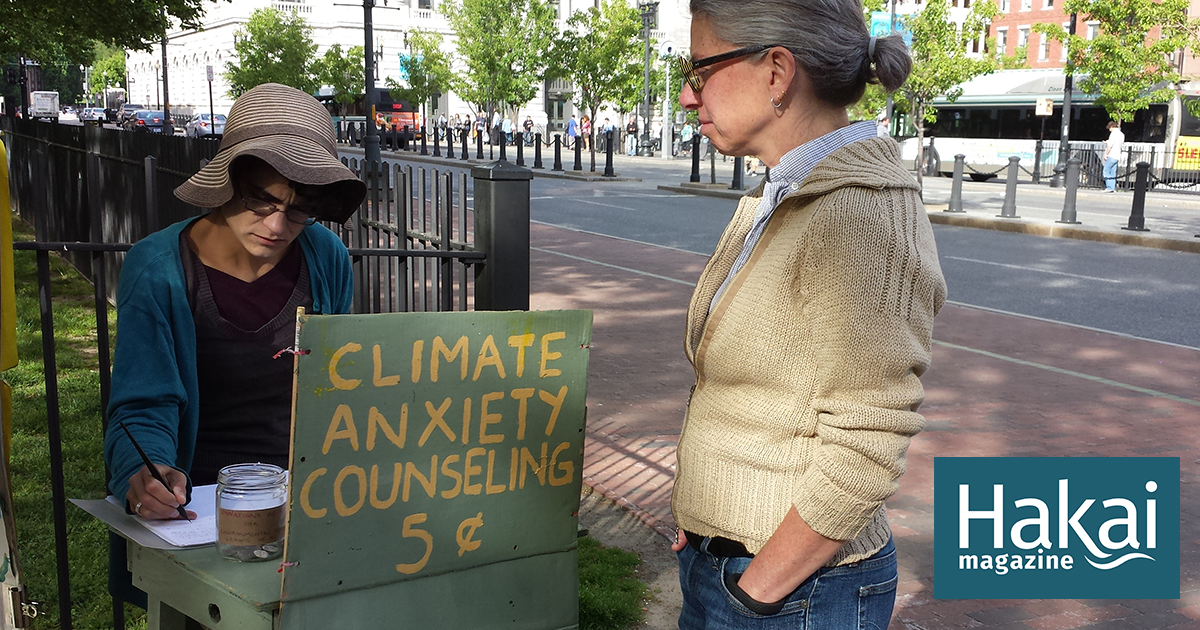 """The Climate Anxiety Doctor Is """"In""""   Hakai Magazine"""