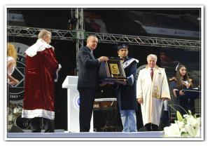 2011 yılında birincilik ödülümü Sayın Cumhurbaşkanımız Recep Tayyip ERDOĞAN'dan alırken, İstanbul Aydın Üniversitesi (IAU) 2011 Mezuniyet Töreni