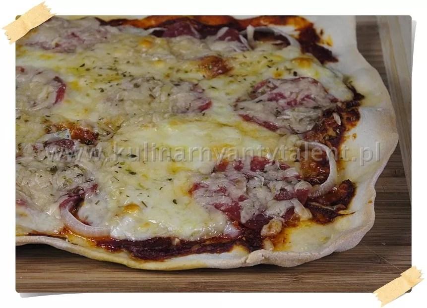 Pizza zsalami
