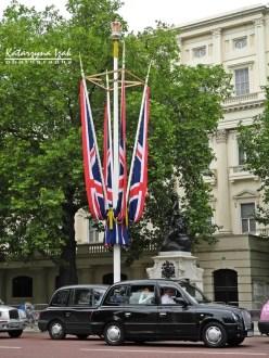 Londyńska taksówka | The Mall, Londyn, Wielka Brytania