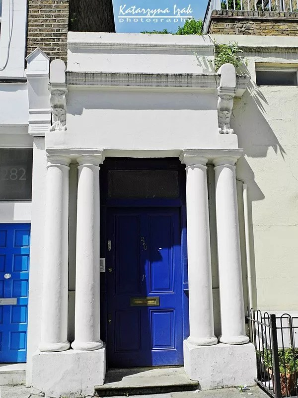 Niebieskie drzwi zfilmu Nothing Hill