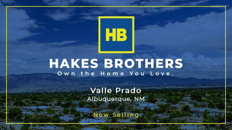 New Homes in Valle Prado - Now Selling