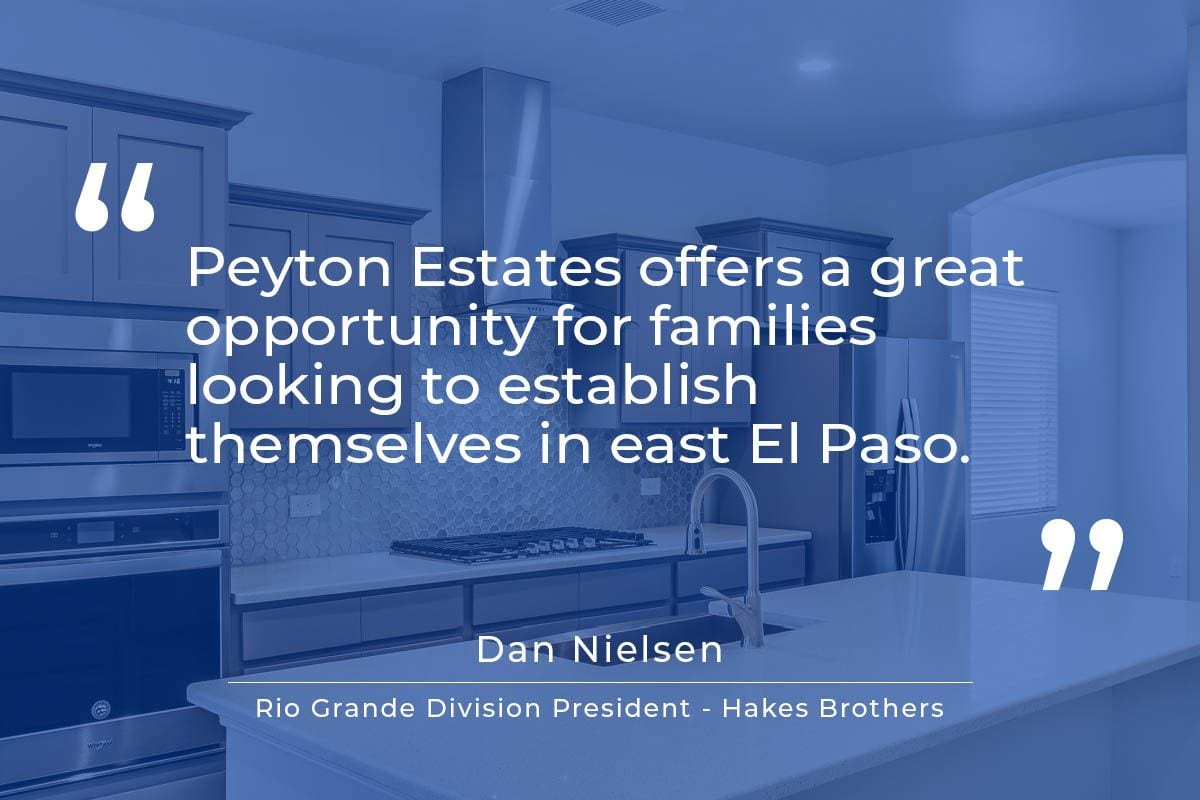 Peyton Estates Announcement