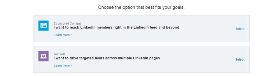 linkedin-mainonta-vaihtoehdot