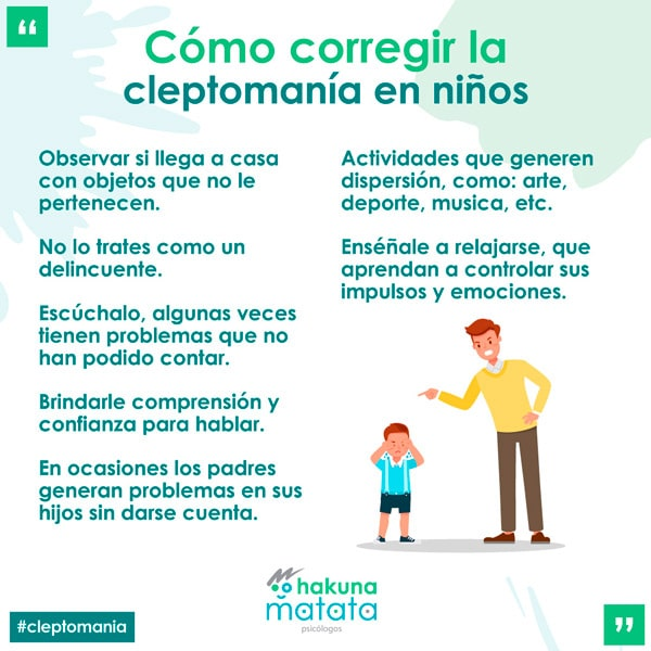 Cómo corregir la cleptomanía en niños