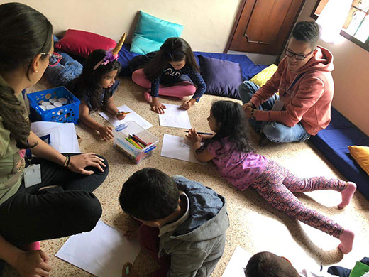 Terapia grupal para niños