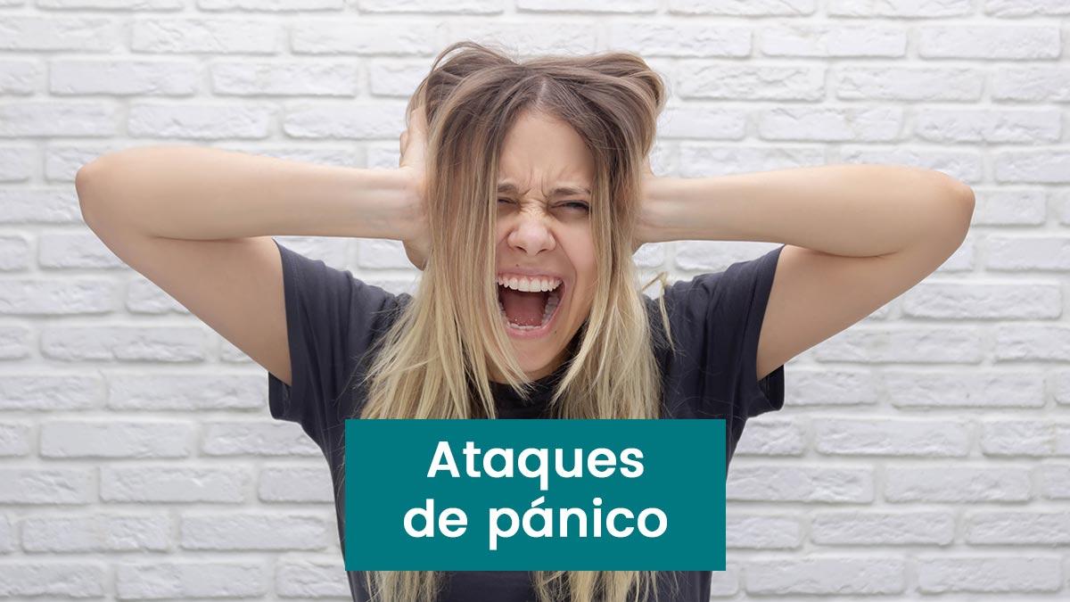 En este momento estás viendo Ataques de pánico síntomas, consejos y tratamiento