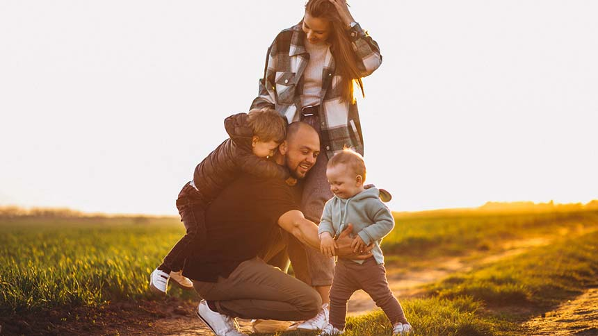Vivir en armonía familiar con niños