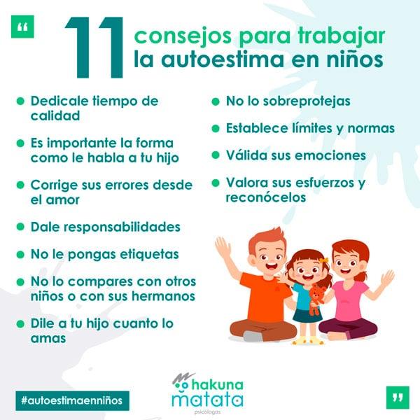 Actividades para trabajar autoestima en niños