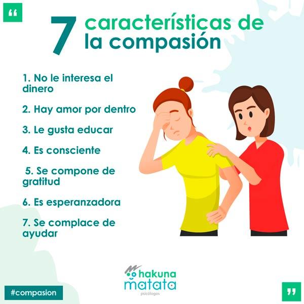 Caracteristicas de la compasion