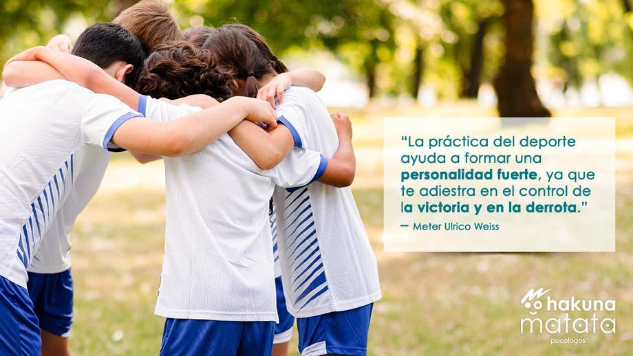 Importancia del deporte para el desarrollo de los niños