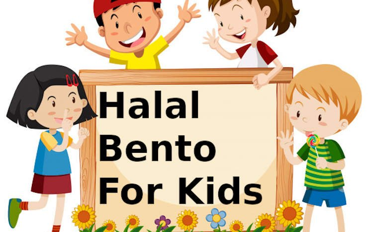 Halal bento for kids